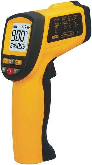 Пирометр-инфракрасный-бесконтактный-термометр-GM900