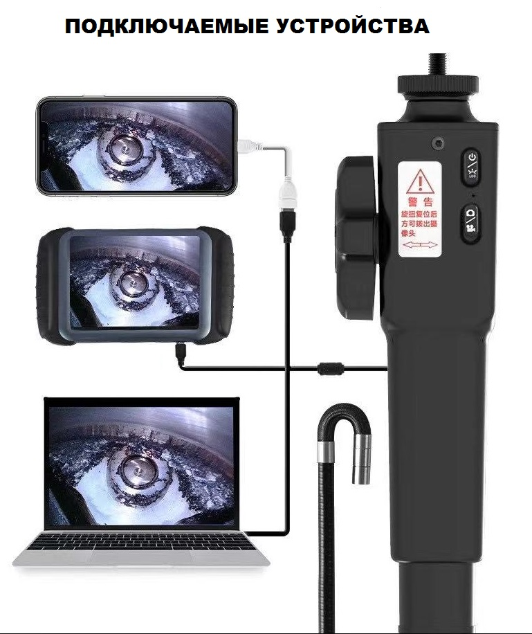 эндоскоп с камерой 8.5 мм